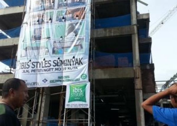 Info Progress Topping Off Ibis Style Hotel Bali 1 isb