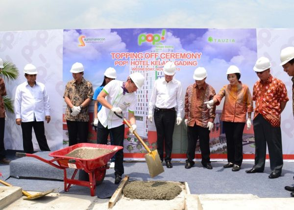 Info Progress Topping Off POP! Hotel Kelapa Gading 1 topping_off_pop_klp_gdg